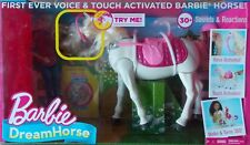 Barbie Dream Horse ~ NEW Walks Turns Voice Touch Activated 30+ Sounds Reactions