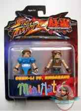 Street Fighter X Tekken Series 2 Minimates Chun Li vs Hwoarang by Diamond Select