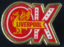 Liverpool vintage Insert badge Maker coffer Sports n'ton brooch pin 41 mm x 30 mm