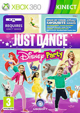 Just Dance: Disney Party XBox 360 Kinect Game *in Excellent Condition*