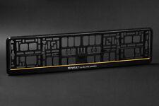 2 x Renault Support de plaque d'immatriqulation