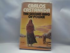"Carlos Castaneda ""The Second Ring Of Power"" Dust Jacket Included Copyright 1977"