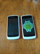 2x Orange San Francisco, ZTE Blade. Unlocked android smart phones. White, touch