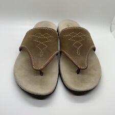 Rockport Sandals sz 6.5 Womens Leather Brown EUC