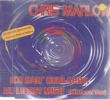 Chris Marlow | Single-CD | Ich hab' geglaubt, du liebst mich (1997)