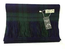 Scottish black watch tartan 100% laine d'agneau écharpe tout neuf avec étiquettes
