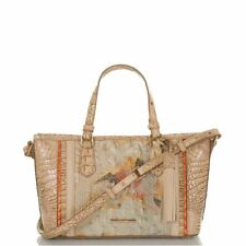 Brahmin Small Asher Rosella Oasis Leather Bag shoulder Purse New
