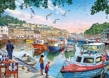 Gibsons - 500 PIECE JIGSAW PUZZLE - First Catch Mevagissey
