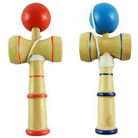 KE_ KQ_ Kids Children Traditional Kendama Ball Wood Educational Game Skill Toy