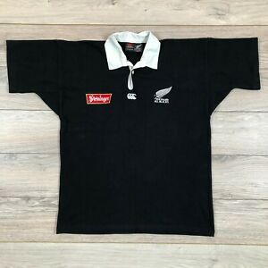 New Zealand All Blacks 1994-1996 Vintage Home Rugby Union Jersey Shirt Rare sz M
