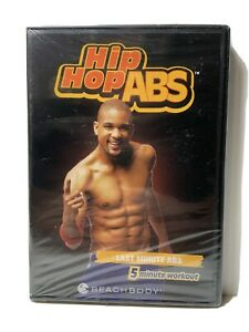 Hip Hop Abs New Sealed DVD Shaun T Last Minute ABS 5 Minute Workout Fitness