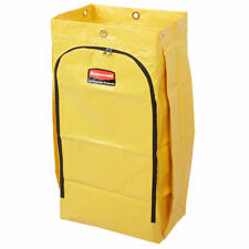 Rubbermaid High 24 Gal Capacity Yellow Vinyl Replacement Bag for Janitor Troley