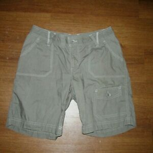 Columbia Gray Light Weight Travel Hiking Trail Shorts  NEW Women's 4 Z5-11