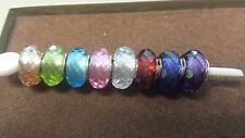 Authentic Chamilia Jeweled Murano Glass Collection Available In Multiple Colors