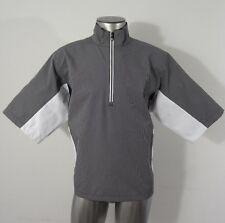 FootJoy DryJoys HydroLite men's half-zip golf rain/wind jacket M new