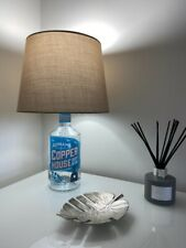 Brown Adnams Southwold Copper House Dry Gin Bottle Upcycled Lamp