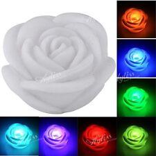 MINI LED Rosa Blumen Kinder Nachtlicht Ledlampe Deko Lampe Leuchte Farbwechsel