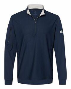 Adidas Performance Textured Quarter-Zip Pullover A295 S-4XL