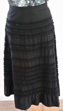 Cotton Mid-Calf A-Line Skirts for Women