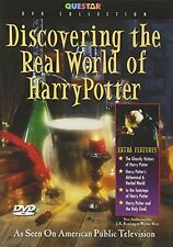 Discovering the Real World of Harry Potter (DVD, 2002) The Magic Behind  * NEW *