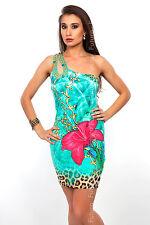 High Quality Mini Dress One Shoulder Sleeveless Tunic Sizes 8 - 10 FC94
