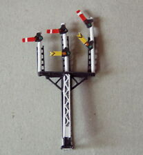 P&D Marsh N Gauge N Scale X325 LMS triple arm signal PAINTED & finished