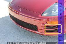 GTG 2000 - 2002 Mitsubishi Eclipse 4PC Gloss Black Side Accent Billet Grille Kit
