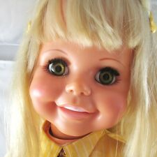 """Betty Big Girl Doll 32"""" Ideal Original Clothing Shoes VTG 1969-1970 Playpal Type"""