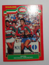 1986 Scanlens Rugby League Trading Card - No.121 - Michael Andrews