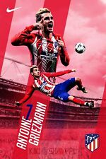 Poster A3 Antoine Griezmann Atletico De Madrid Futbol Football Deporte Sport 06