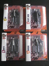 CLERKS MOVIE BLACK AND WHITE FIGURES DANTE RANDALL JAY SILENT BOB DIAMOND SELECT