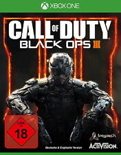 CALL OF DUTY BLACK OPS 3 III - XBOX ONE SPIEL - DEUTSCHE VERSION - TOP GAME !