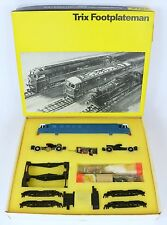 TRIX 2128 E3000 AL1 RARE BOXED FOOTPLATEMAN KIT SEE PHOTOS AMAZING CONDITION