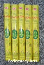 Hem Prana Incense 5 x 20 Stick, 100 Sticks New {:-)
