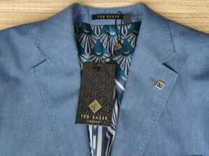 Ted Baker men's men's blazer size 40R, Italian Wool & Linen, Modern Fit