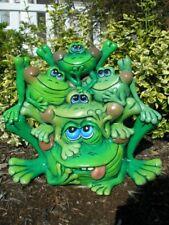Frog Toad Planter Ceramic Garden Home Interior