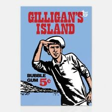 GILLIGAN'S ISLAND TOPPS 80TH ANNIVERSARY WRAPPER ART CARD #Topps #TV #PopCulture