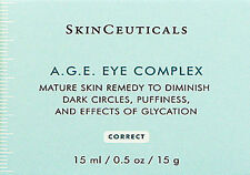 SkinCeuticals AGE A.G.E. Eye Complex 15ml /0.5oz dark circles  Brand New ***