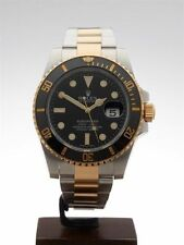 Rolex Submariner Adult Ceramic Strap Wristwatches