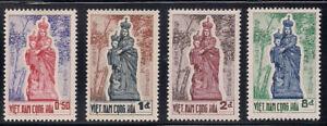 Vietnam-S. 1962   Sc # 193-96   MLH  (1-046)