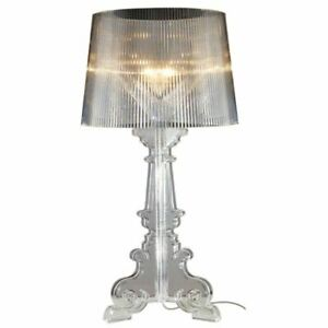 Crystal Clear Bedroom Table Lights Ghost Contemporary Reading Table Lamp Study R