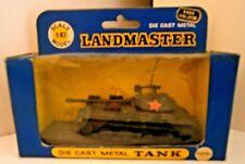 Vintage Zylmex Landmaster T10 JSIII Diecast Tank T404 - 1/87 - Mint/Nr Mint Box.