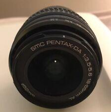 PENTAX DA 18-55mm f/3.5-5.6 AL Lens