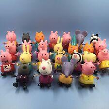"Random Pick 10 Of PEPPA PIG 3"" PEPPA PIG AND FRIENDS FIGURES"