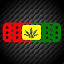 BandAid Rasta Cannabis Bob Marley JDM Car Racing laptop ipad Vinyl Decal Sticker