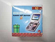 GameBoy Advance Konsole GBA SP Classic NES Edition OVP komplett