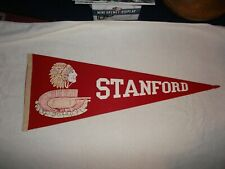 Stanford  Football  Pennant.(1950s or 1960s). Full Size.