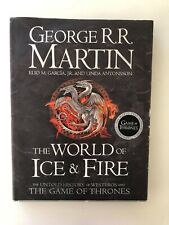 The World of Ice and Fire, George R R Martin Game of Thrones 2014