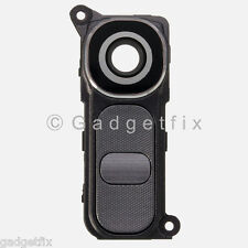 US OEM LG G4 H815 H810 H811 VS986 Camera Glass Lens Cover Frame Holder + Button