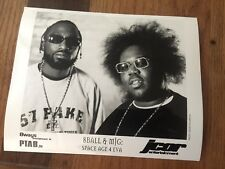 8ball and MiG Space Age and 4 Eva Jcor 8 X 10 Press Photo